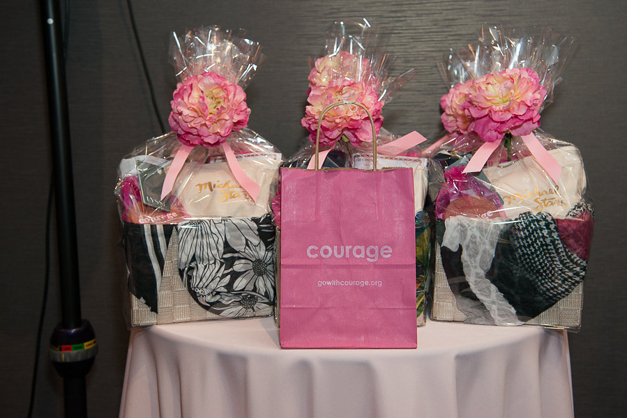 Giveaways with Courage BAg