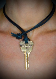 Necklace Leather Cord Photo