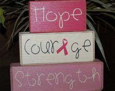 hope courage strength