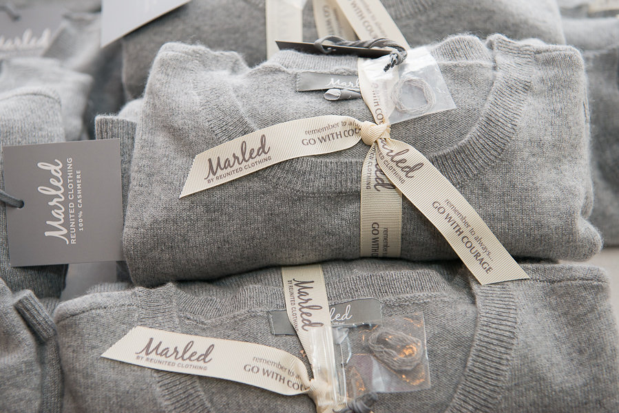 Marled Sweater with Ribbon