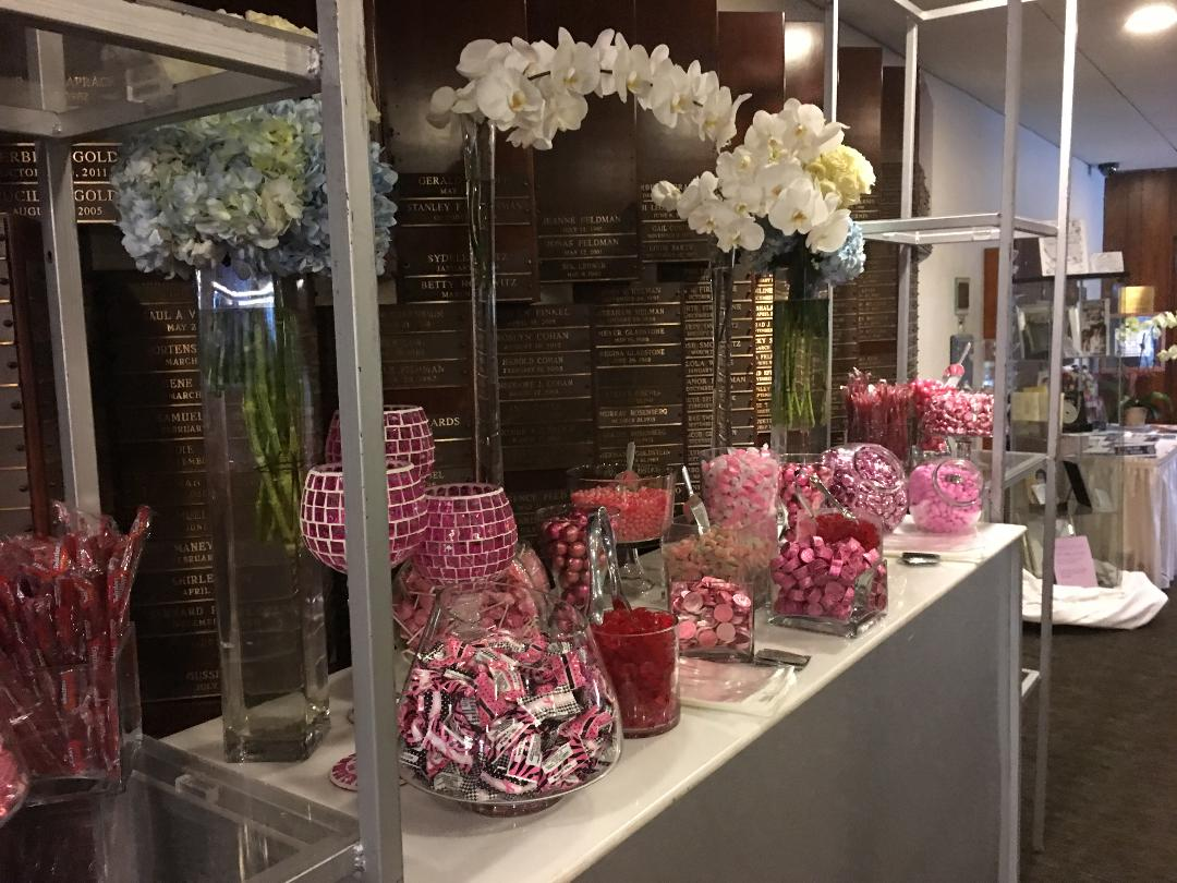 candy table from Howard