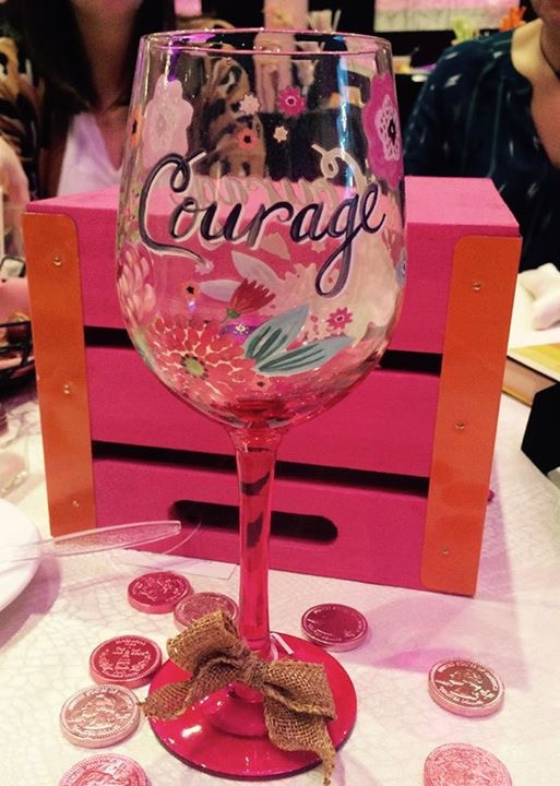 courage glass