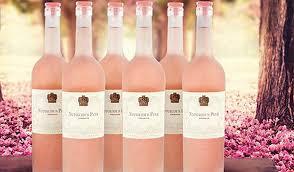 Notorious Pink Rose Wine Bottles